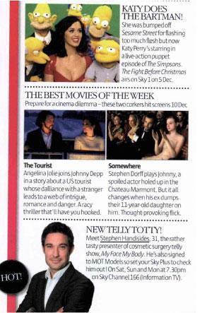 Stephen in Look Magazine
