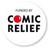 Comic Relief Logo - one of our previous funders.
